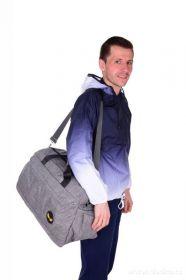 Sportovní taška SPORT & WEEKENDER REBELITO šedá Dedra