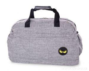 Sportovní taška SPORT & WEEKENDER REBELITO šedá