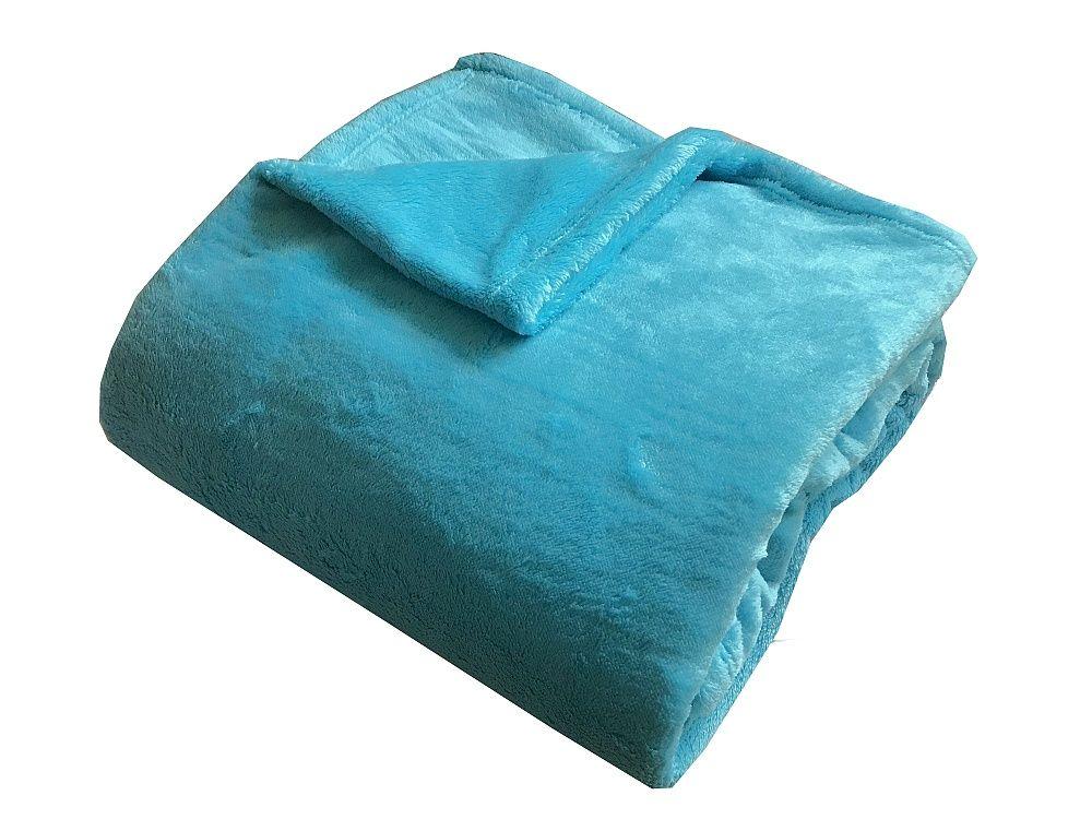 Super soft deka Dadka - tyrkys, 150/200cm Dadka Vracov
