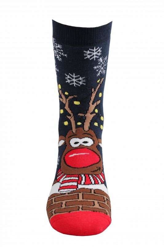 Veselé vánoční ponožky RUDY I. Boma vel. 42-46