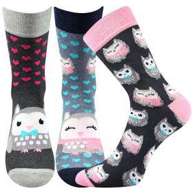 Veselé ponožky XANTIPA. Boma vel. 39-42 sada 3páry