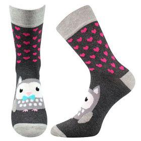 Veselé ponožky XANTIPA. Boma vel. 39-42 sada 3 páry