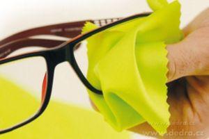 4ks mikrovlákno na brýle 14,5 x 15cm