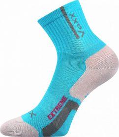Dívčí sportovní ponožky Josífek mix B tyrkysová Voxx