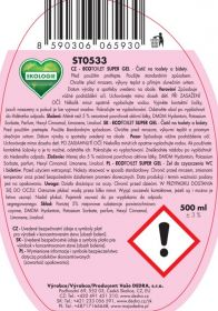 Eko čistič WC - toilet gel Alpine fresch 500ml Dedra