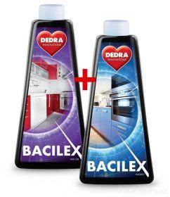 Hygienický čistič hladkých povrchů BACILEX 2ks náhradní náplně bez rozprašovače Dedra