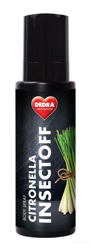 Insectoff body spray - spej proti klíšťatům a hmyzu 100ml Dedra