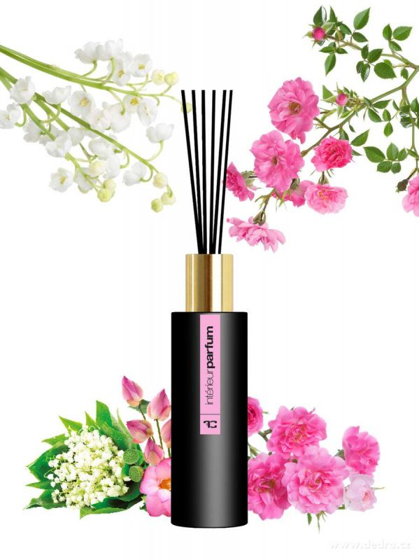 Interiérový parfém Flower garden 80ml Dedra