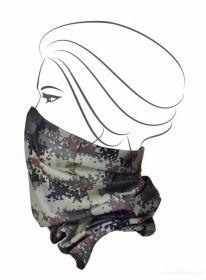 Multifunkční šátek nejen na sport - khaki maskáčový 2