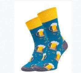 Pánské veselé ponožky PIVO vel. 43-46