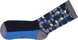 Pánské vzorované ponožky Abstrakce vel. 43-46