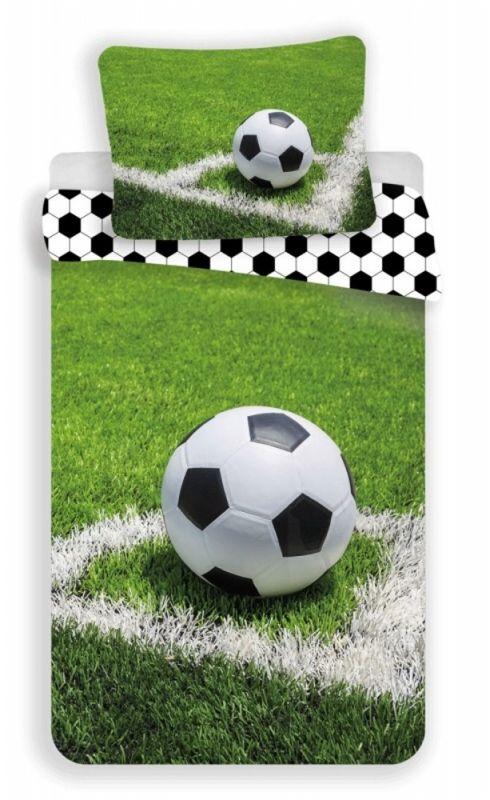 Povlečení bavlna fototisk - Fotbal 140x200 90x70 Jerry Fabrics