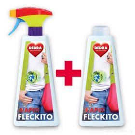RAPID FLECKITO 3 minutový sprej na skvrny před praním 1+ 1 Dedra