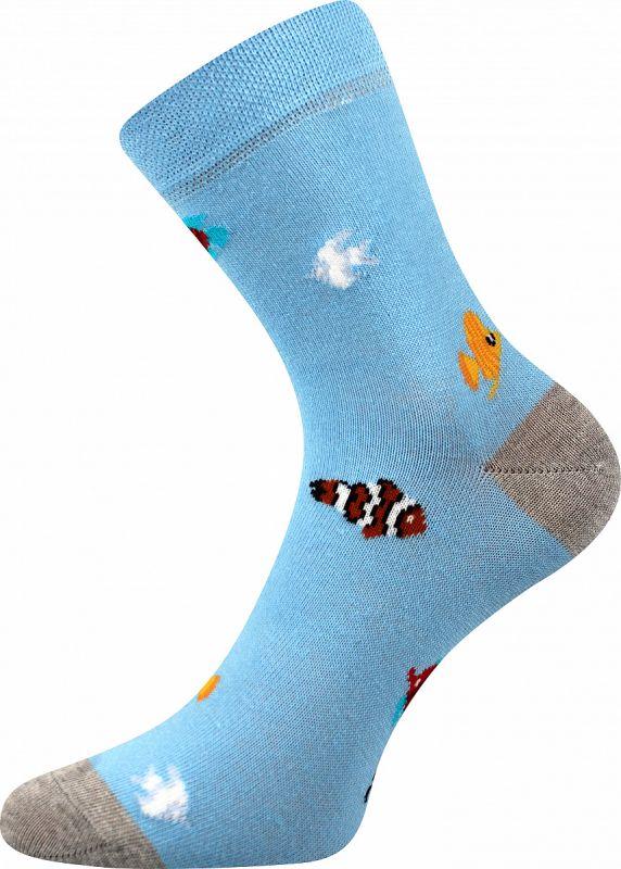 Veselé dívčí ponožky RYBKY Boma