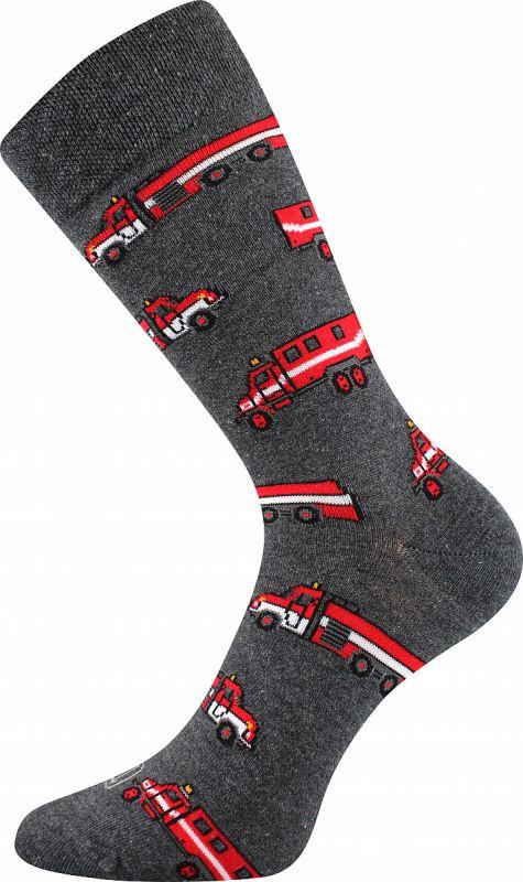 Veselé ponožky HASIČI I. Lonka