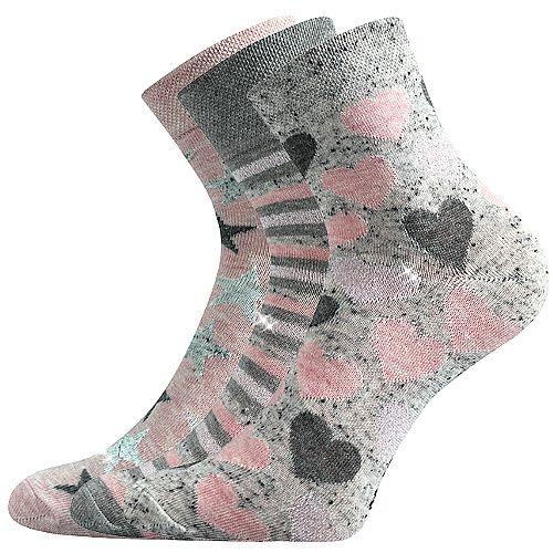 Veselé ponožky IVANA. Boma vel. 39-42 sada 3páry