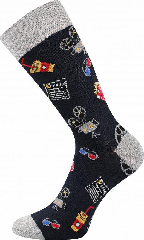 Veselé ponožky KINO Lonka