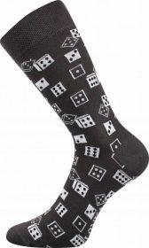 Veselé ponožky KOSTKY  Lonka