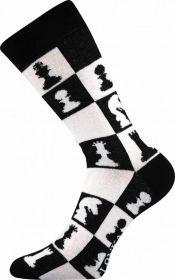 Veselé ponožky ŠACHY Lonka