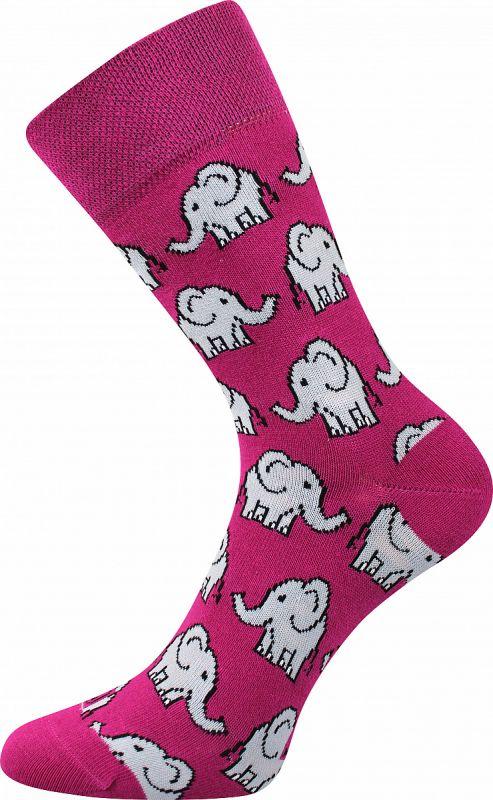 Veselé ponožky SLONI Lonka