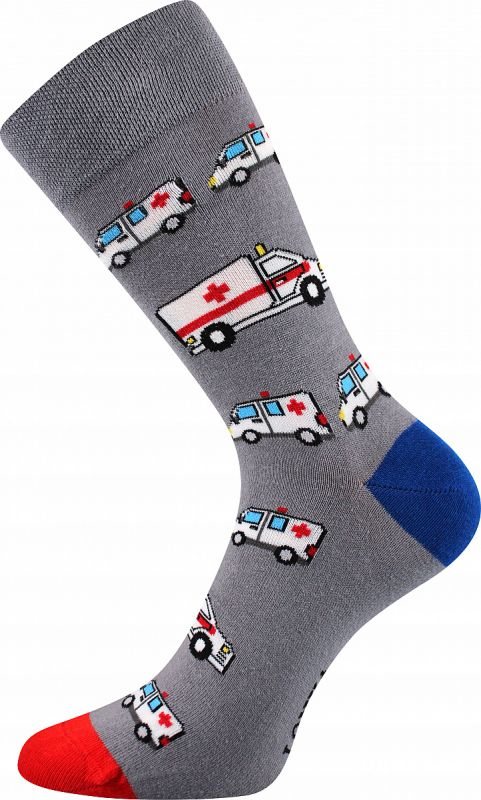 Veselé ponožky ZÁCHRANKA Lonka