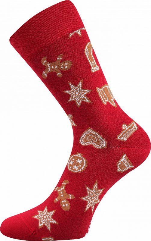 Veselé vánoční ponožky PERNÍČCI 2 Lonka