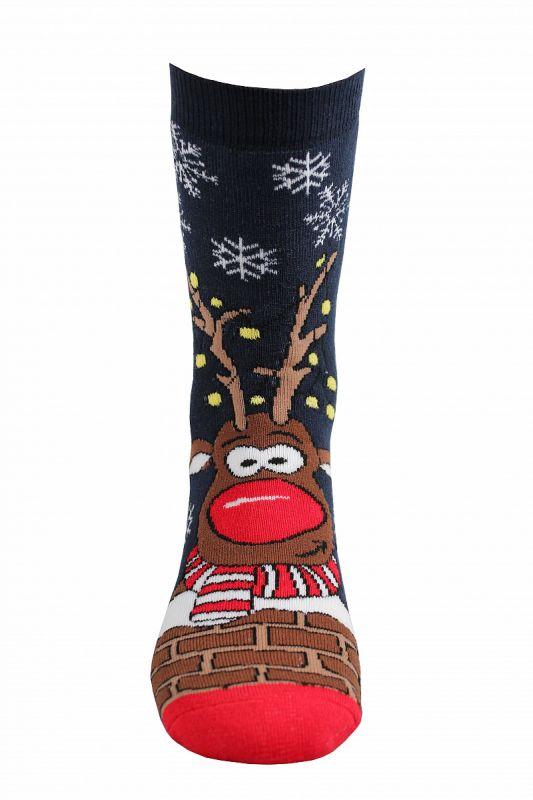 Veselé vánoční ponožky RUDY I. Boma vel. 27-34