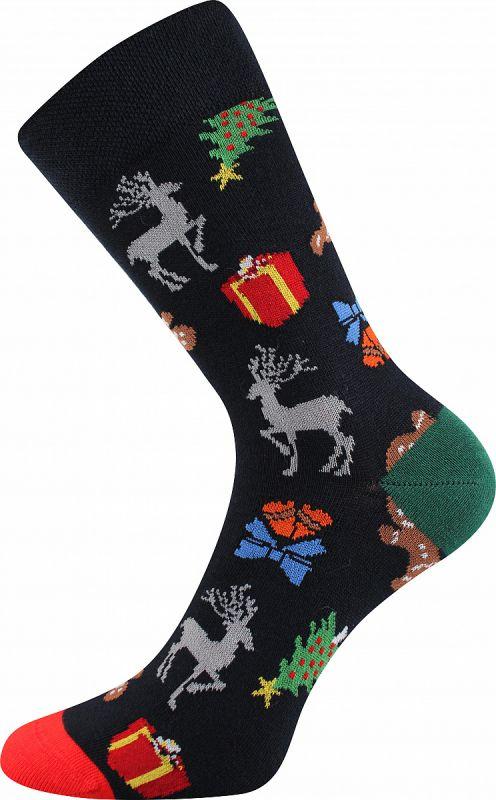 Veselé vánoční ponožky VÁNOCE Lonka