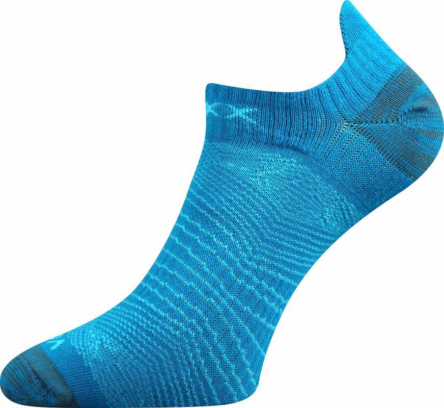 Dámské sportovní ponožky Rex 01 mix B - tyrkysová Voxx