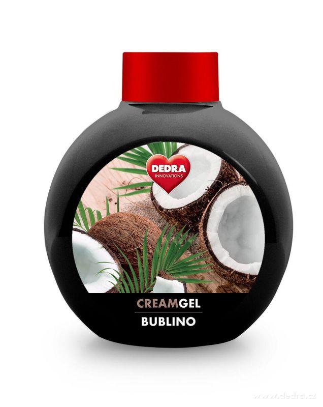 Krémové mýdlo BUBLINO CREAMGEL 500ml - bounty, bez pumpičky Dedra