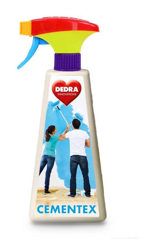 Odstraňovač cementových a vápenatých povlaků po malování CEMENTEX 500 ml Dedra