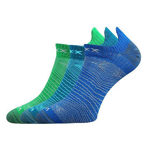 Dámské - pánské sportovní ponožky Rex 01 mix C - 3 páry Voxx