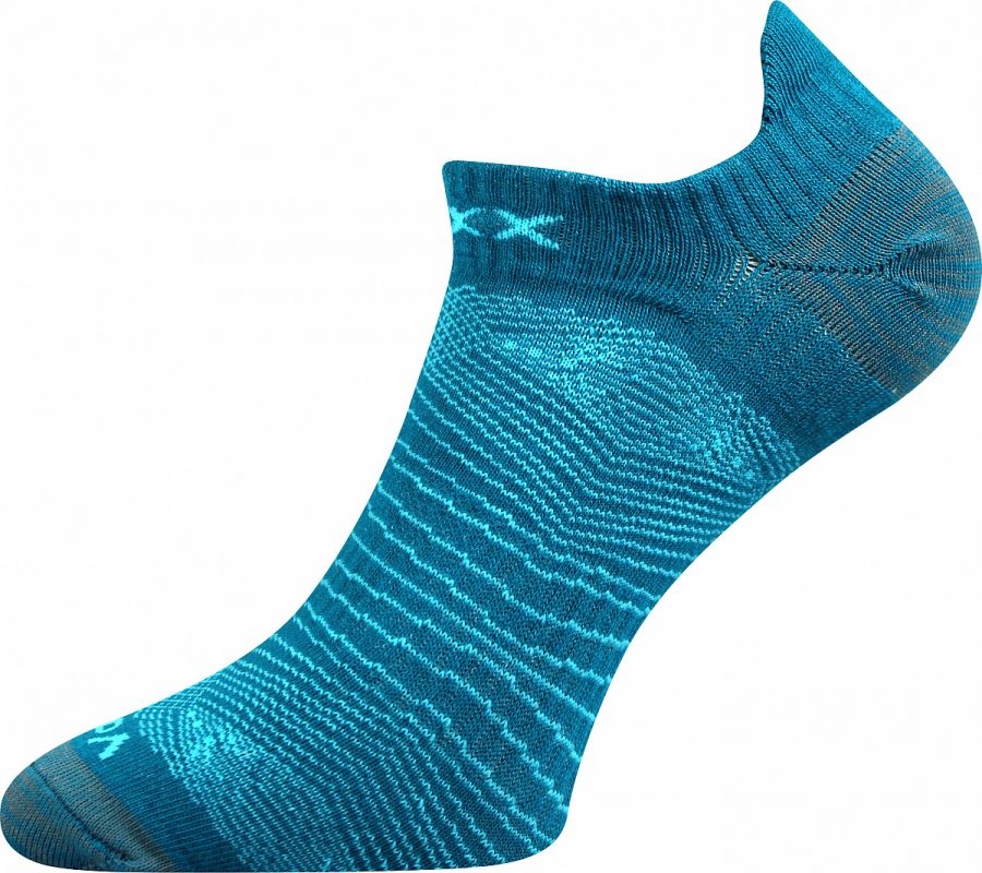 Dámské - pánské sportovní ponožky Rex 01 mix C petrolejová Voxx