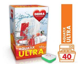 Tablety do myčky AQUATIX ULTRA, 40 ks