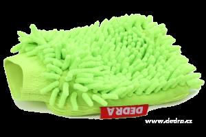 Sasanka - rukavice jasně zelená