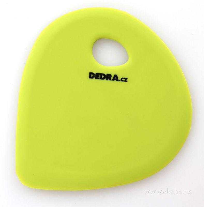 Silikonová stěrka - zelená Dedra
