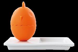 Stojánek na snídaňové vejce - oranžový Dedra