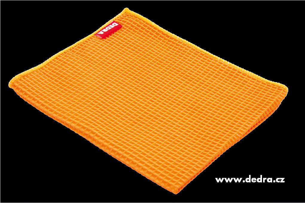 Ultrasavá utěrka - oranžová Dedra