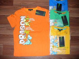 Chlapecké tričko DINO, vel. 122/128