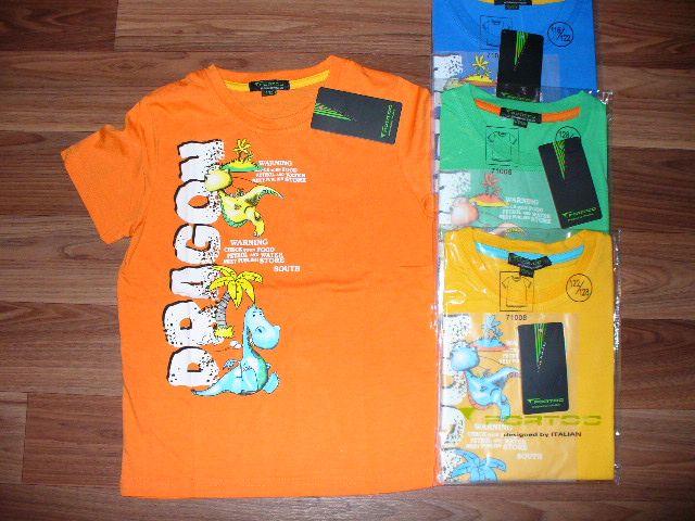 Chlapecké tričko DINO, vel. 122/128 Fortog