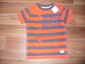 Chlapecké tričko s potiskem, vel. 110