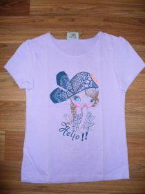 Dívčí tričko s holčičkou, vel. 110/116