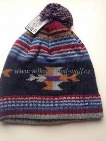 Chlapecká zimní čepice Wolf, vel.6-7let