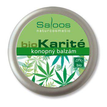 Saloos Bio Karité balzám - Konopný 19ml