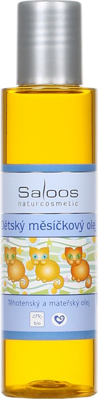 Saloos Dětský měsíčkový olej 125ml