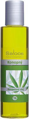 Saloos Koupelový olej - Konopný 125ml