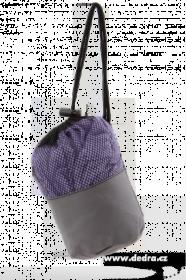 Ultrasavá podložka/ručník XXL - fialová