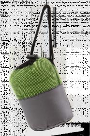 Ultrasavá podložka/ručník XXL - jasně zelená