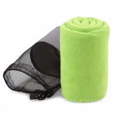 Ultrasavá podložka/ručník XXL - jasně zelená Dedra