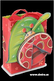 Dárková taška 3D - Beruška